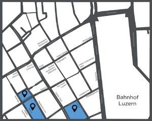 Übersicht Karte Luzern Chrampfcheibe
